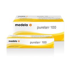 Crème Purelan de Medela en vente chez Condorcet Médical Baby pour soulager les mamelons irrités de vos seins