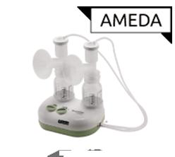 Tire-lait Ameda en location chez Condorcet Médical Baby