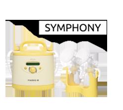 Tire-lait Symphony en location chez Condorcet Médical Baby